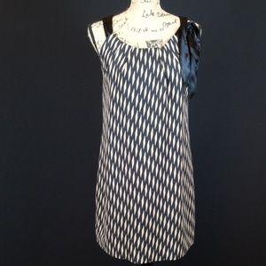 Floreat  Anthropologie ribbon tank dress silk Rk:5